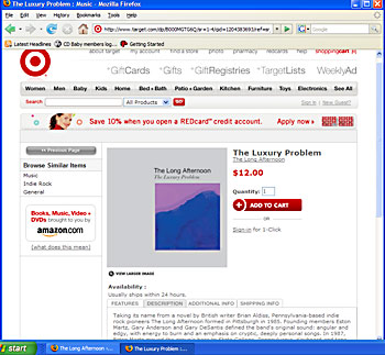 The Luxury Problem at Target.com